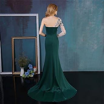 HSLS Womens Dress Long Evening Dress Mermaid Prom Dress Lace Long Sleeve Formal Occasion Vestido De Noiva at Amazon Womens Clothing store: