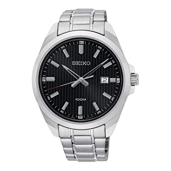c6fc3efbe Image Unavailable. Image not available for. Color: Seiko neo Classic  SUR277P1 Mens Quartz Watch