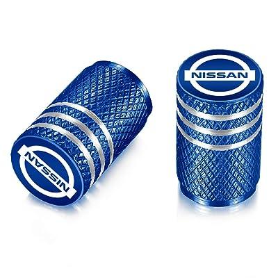 QINGTECH Valve Stem Caps, Tire Caps Replacement for Car,Motorbike,Trucks,Bike and Bicycle Aluminum 4pcs: Automotive