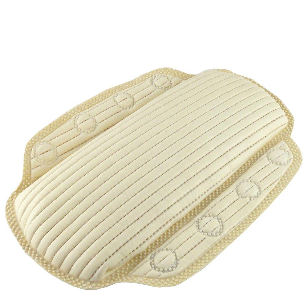 Anti-Bacterial Synthetic Memory Foam Bath Pillow Mavs Store