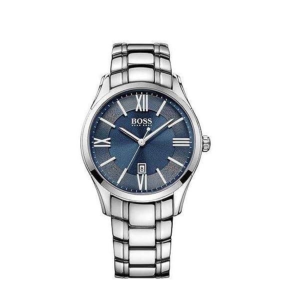 Hugo Boss Ambassador Round 1513034 Reloj de Pulsera para hombres Clásico & sencillo