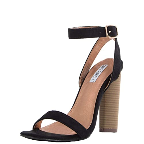 3b45ab21567 CAPE ROBBIN Womens Open Toe Slingback Ankle Strap High Heel Cocktail Party  Pump Sandals Shoes 6