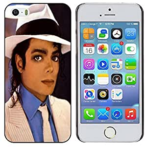 H&F Michael Jackson Smooth Criminal Collectible Picture iPhone 5S Seamless Case
