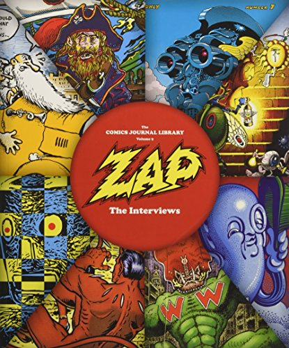 Zap: The Interviews (Comics Journal Library) for sale  Delivered anywhere in USA