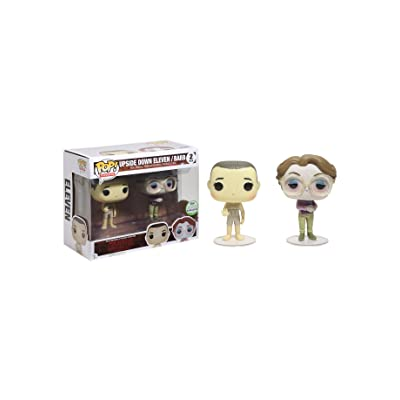 Funko Pack 2 Figures POP. Stranger Things Upside Down Eleven & Barb eccc 2020 Exclusive: Toys & Games