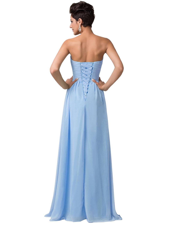Grace Karin 12193406- Vestidos Largos Fluidos Para Mujer: Amazon.es ...