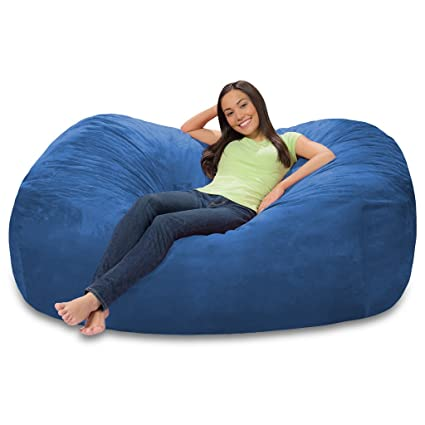 Groovy Amazon Com Extra Large 6 Fuf Comfort Suede Bean Bag Cover Beatyapartments Chair Design Images Beatyapartmentscom