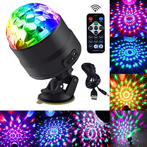 Rotating Disco Ball Led Lights in US - 3