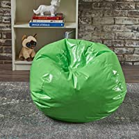 Taylor Lime Vinyl Kids Bean Bag