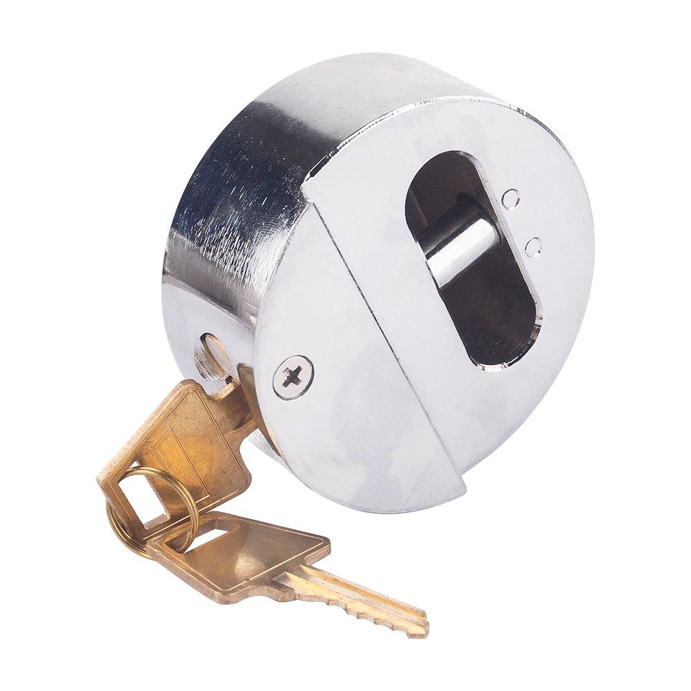 candado de seguridad para puerta de garaje de furgoneta de alta seguridad con cerradura de grillete de 73 mm de acero con perno Bloqueo de seguridad para grillete