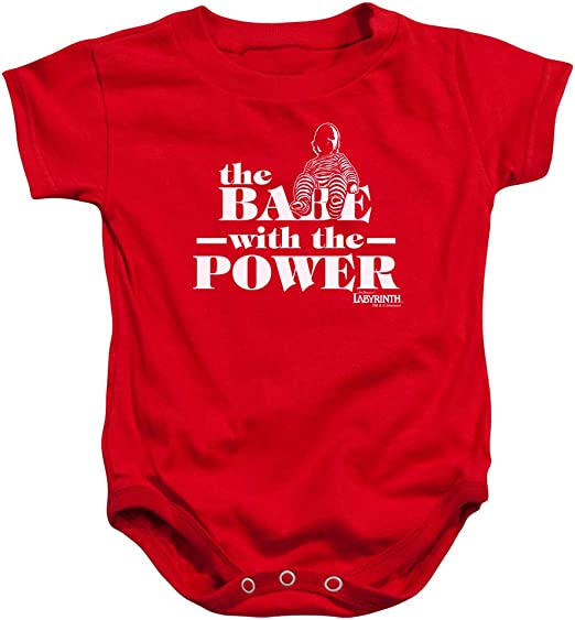 Popfunk Labyrinth The Babe with The Power Baby Onesie Bodysuit 6 Months