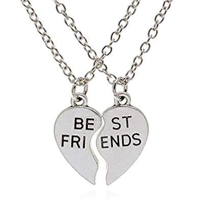 Puzzle Piece Pendant Necklace Set Lover Boyfriend Friendship Best Friends Gift Jewelry & Watches