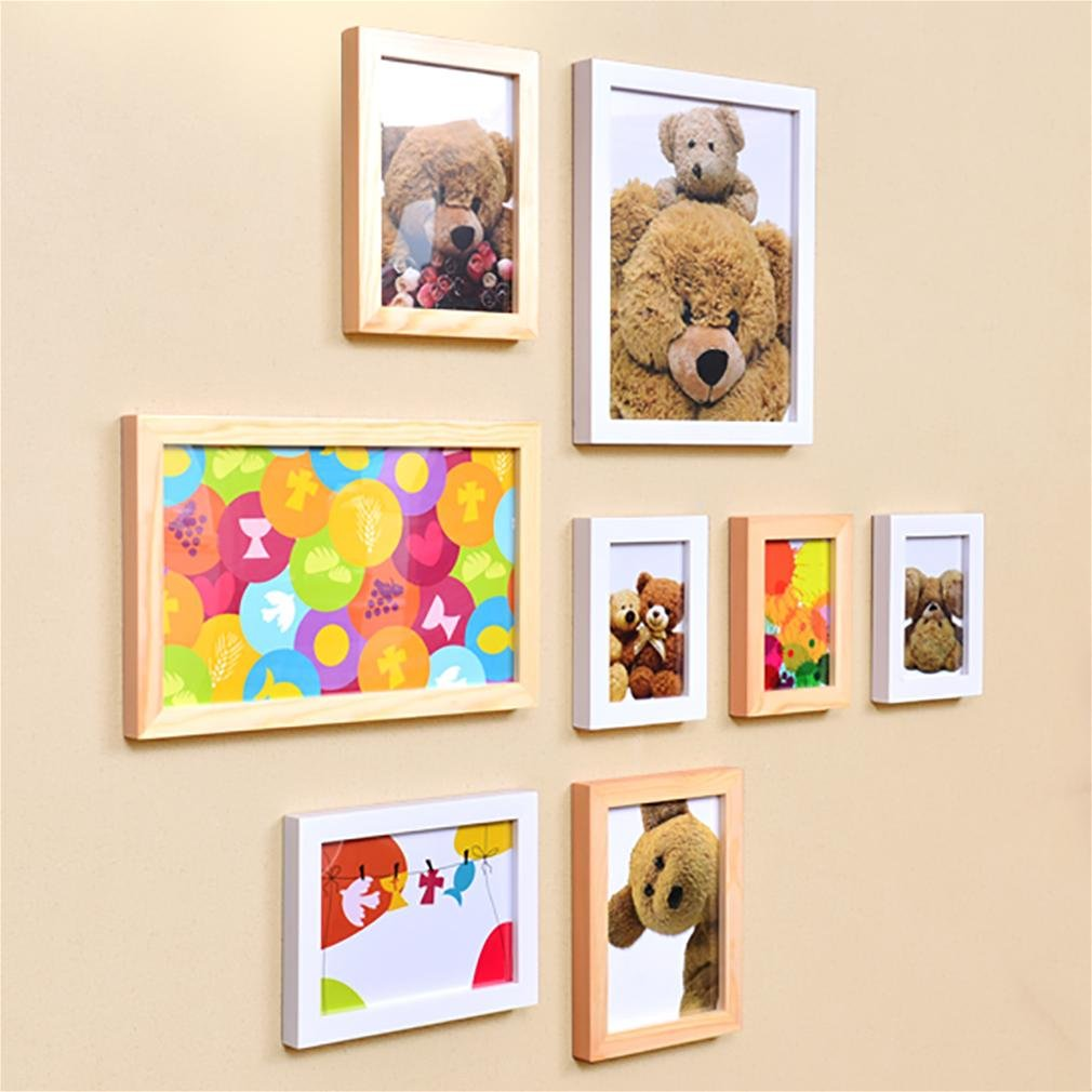 WillST Multi Picture Photo Frame European Style Creative Home Decoration 8pcs , a by Unknown (Image #6)