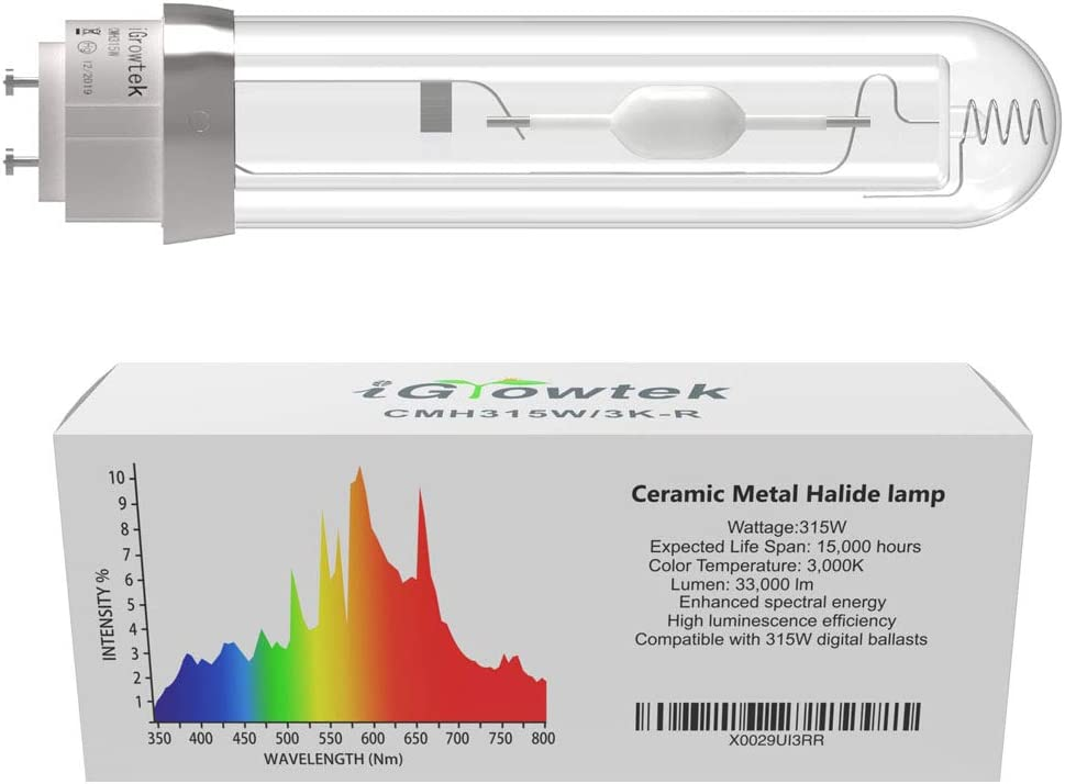 Igrowtek CMH 3000K Grow Light Bulb