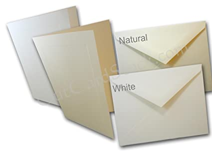 amazon com cougar natural a7 inner outer envelope sets 25