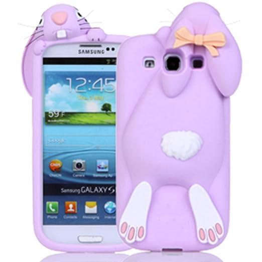 10 opinioni per Sunroyal® Morbido 3D Bunny Custodia per Samsung Galaxy S3 (GT-i9300 / i9300i S3