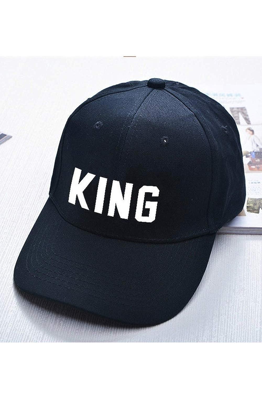 King Queen Couple Bomber Hat Women Men Gift Daily Matching Chapeau