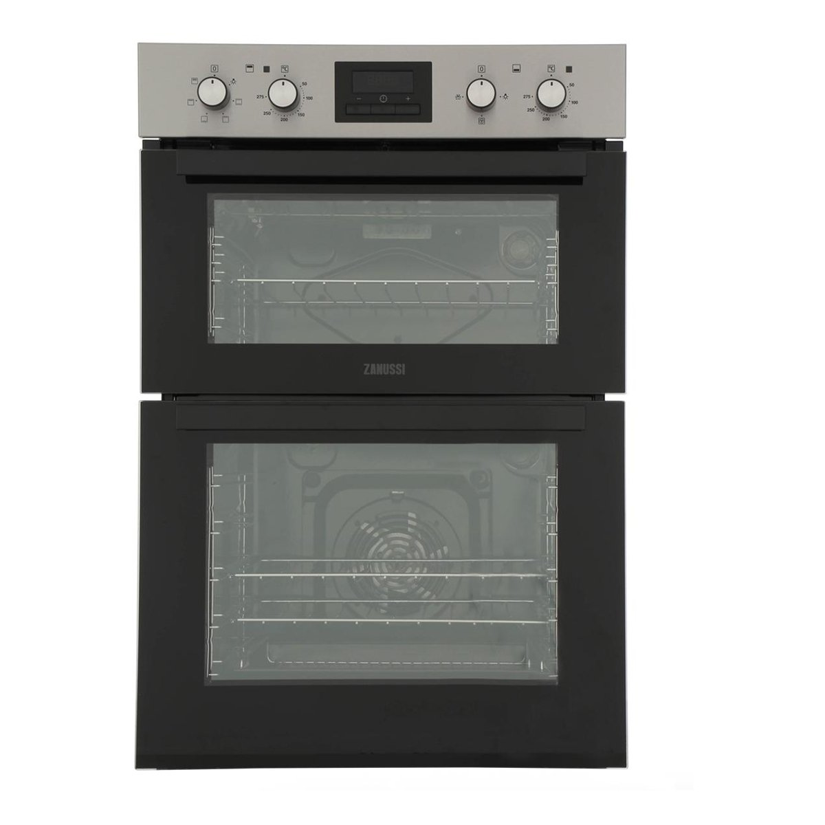Zanussi ZOD35661XC Built-in Electric Double Oven 7-Multi-Functions S\/Steel