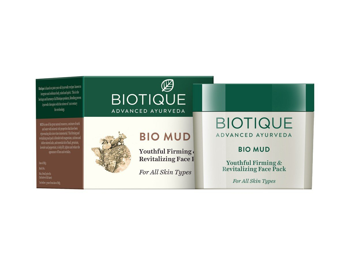 Bio Mud Ageless Firming and Revitalizing Face Pack For All Skin Types Bio Veda Action Research Co RETMLLJ0017