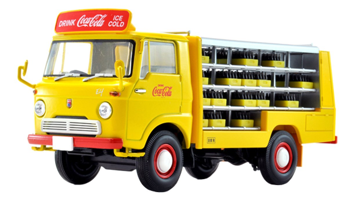 Isuzu Elf - Root Car [Coca-Cola]: Amazon.es: Juguetes y juegos