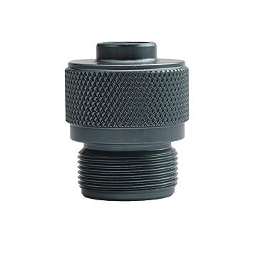 ZREAL Bote de la válvula del Adaptador de la Estufa de Gas para Acampar al Tanque