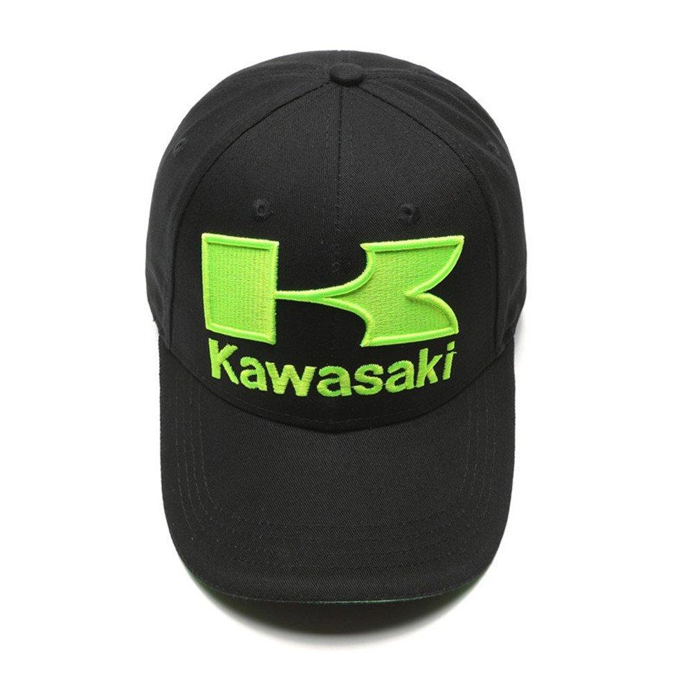 Amazon.com: Zhang Kawasaki sombrero para motocicleta de ...