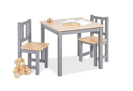Pinolino 201424 Fenna - Juego de mesa y sillas infantiles (3 piezas ...