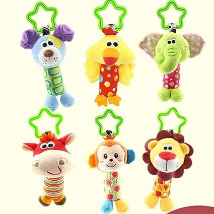 Hemore - Campana colgante para bebé, juguetes para cochecito de bebé, cochecito de bebé