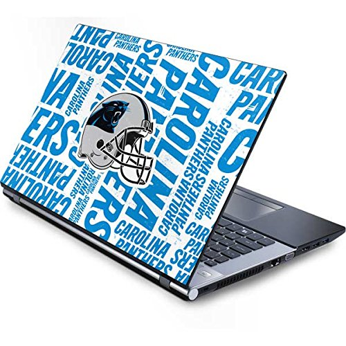 Skinit Carolina Panthers - Blast Generic 15.4in Laptop Skin - Officially Licensed NFL Laptop Decal - Ultra Thin, Lightweight Vinyl Decal Protection