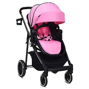Amazon.com: INFANS - Cochecito de bebé 2 en 1, cochecito de ...