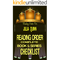 JULIA QUINN: SERIES READING ORDER & BOOK CHECKLIST: SERIES LIST INCLUDES: THE SPLENDID TRILOGY, THE LYNDON SISTERS, AGENTS of THE CROWN, THE BRIDGERTON'S ... & Checklists Series 19) (English Edition)