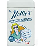 Nellie's Oxygen Brightener Powder Tin, 2 Pound - Removes Tough Stains, Dirt and Grime