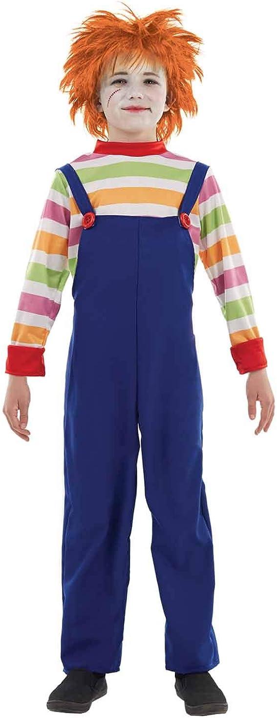 Fun Shack Azul Muñeca Malvada Disfraz para Niños
