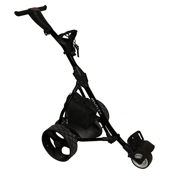Trolley de Golf eléctrico para Caddie Bentley Batería 200 w 35 A - Negro: Amazon.es: Deportes y aire libre