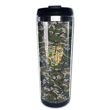 Stencil Character de graffiti personalizado tazas de café personalizada taza Botella de agua marcas 1 litro botella de agua Top botellas de agua: Amazon.es: ...