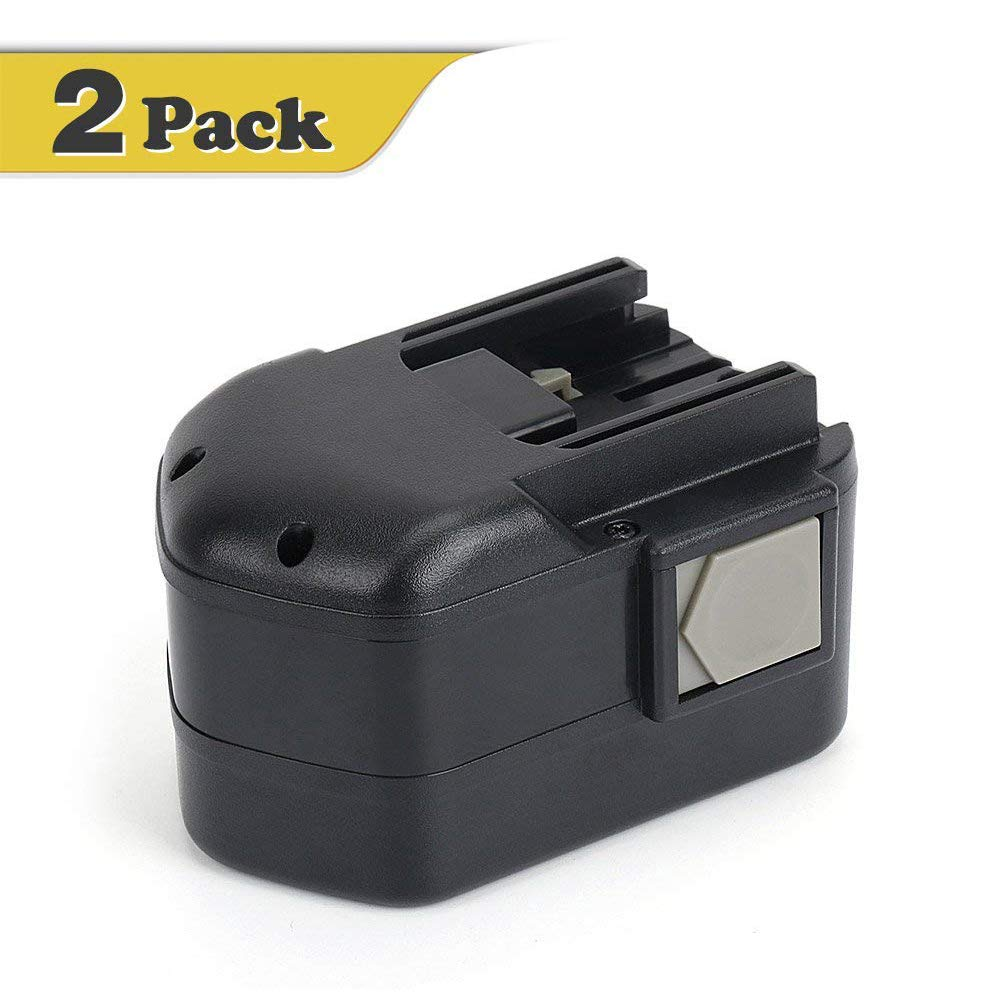 Reexbon 2.4V 2.0Ah Replace Milwaukee 2.4 Volt Battery Pack 48-11-0100 6546-1 6539-1 6538-1 6550-20 6539-6 6540-1 6545-6 6546-6 6547-1 6547-22 2000mAh Ni-CD Replacement Battery