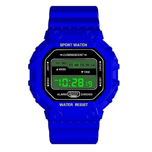 Daringjourney Relojes para Hombres, Relojes Deportivos, Relojes Digitales al Aire Libre Digitales de Lujo HONHX, Relojes Deportivos a Prueba de Agua LED, ...