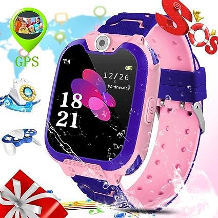 Amazon.com: ZEERKEER S12 - Reloj inteligente para niños ...
