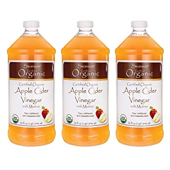 Swanson Certified Organic Apple Cider Vinegar