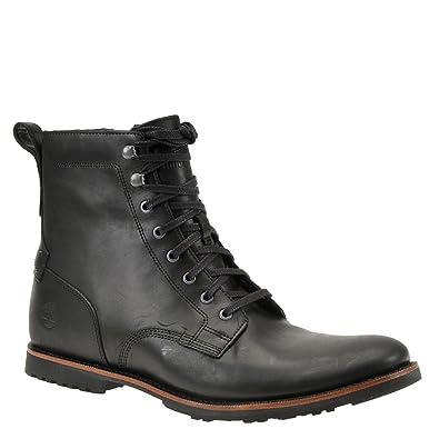 Timberland Kendrick Side Zip Boot - Men's Black Full Grain, ...