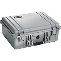 Pelican 1550 Case with Foam for Camera (Silver)