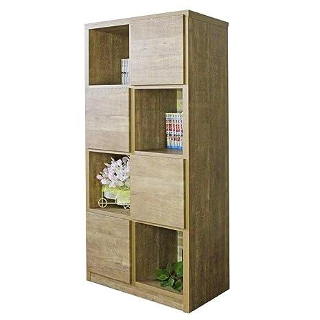 6ecd29957f Amazon|70-4 ラック ラッキー 1-12 (LB) 本棚 収納家具 多目的ラック 幅 ...