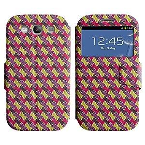 LEOCASE patrón increíble Funda Carcasa Cuero Tapa Case Para Samsung Galaxy S3 I9300 No.1004447