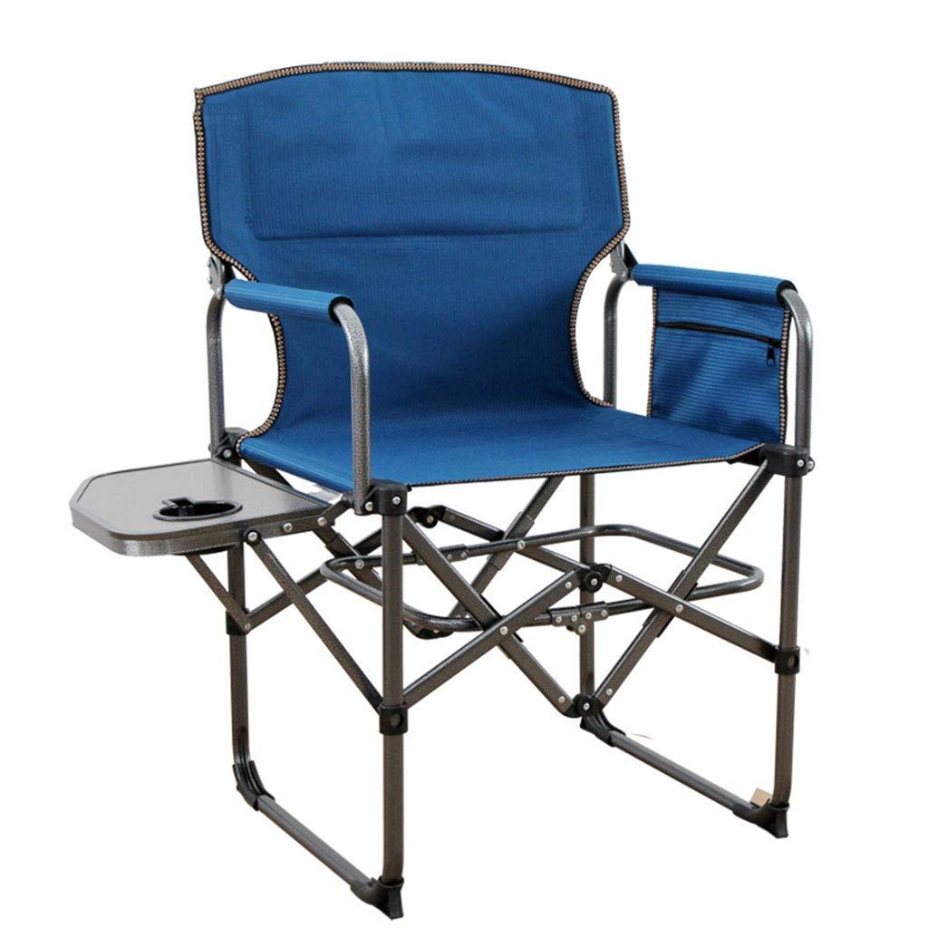 ShJttt-chair or stool Chaise de Pliage Portable Outdoor Loisirs Croquis pêche Loisirs Maison Fauteuil de Plage Croquis en Plein air (78  50  90) (Couleur   Bleu) Bleu -