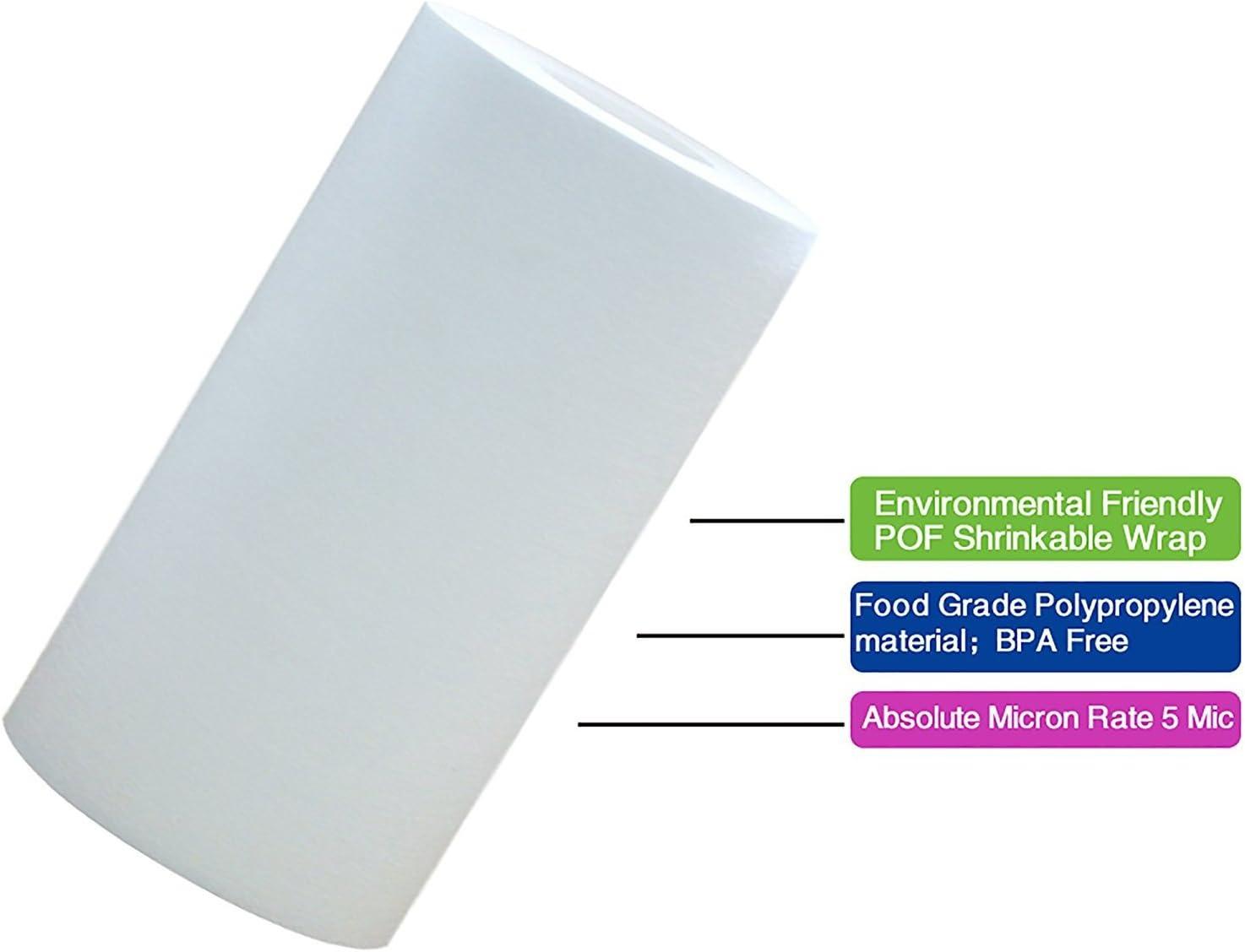 AquaHouse Grande cartouche de remplacement de s/édiments UV pr/é-filtre AH-SED105BB-UV