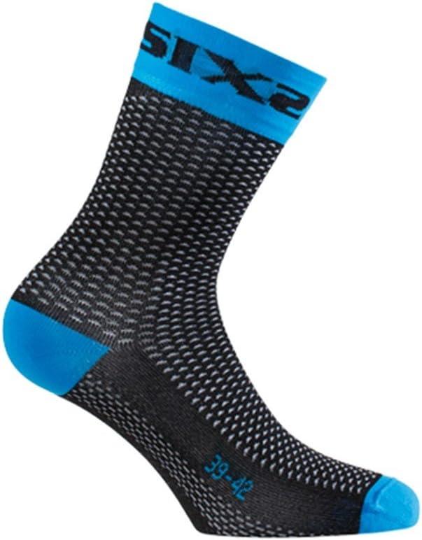 SIXS SHORTS-BL-43 Socken Blau Gr/ö/ße 43//46
