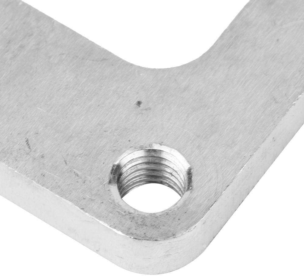 Enrilior Stainless Steel Weld Flange Adapter Fit for T6 Undivided Inlet Turbo 1//2in Thick