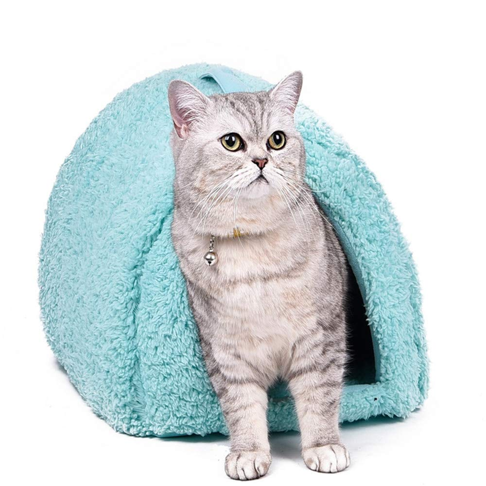 Green Wuwenw Sweet Style Pet Bed Small Dog Kennel Pet House Kitten Home Puppy Cushion Mats Sofa Cat Living Pet Place To Sleep 4 color,Coffee color