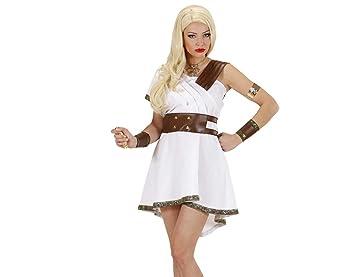 WIDMANN Señoras Olympia Warrior Disfraces Extra Large Reino Unido 18-20 de Toga Party romana
