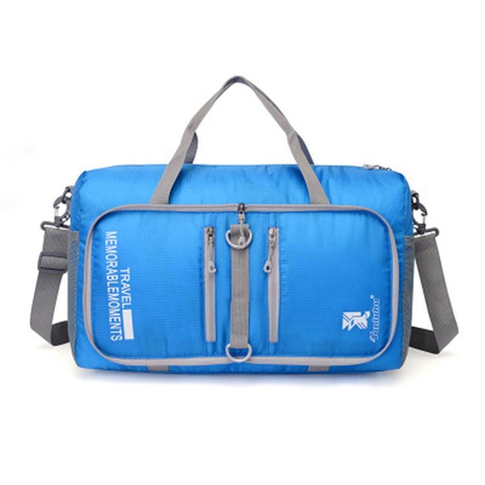 Zoomlie Outdoor Sports Folding Bag Green,Orange 45 * 20 * 25 CM,Capacity 18L Black Shoulder Bag Purple Lake Blue Waterproof Nylon Backpack Blue Rose Red